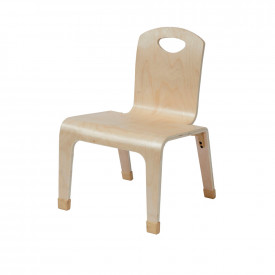 One Piece Wooden Teachers Chair