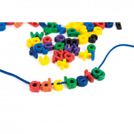 Plastic Alphabet Letters Lacing Set