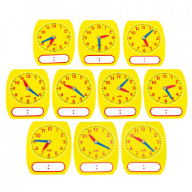 Write on Wipe Off Clock Dial