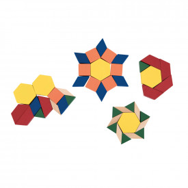 Pattern Blocks Wood