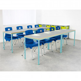 Welded Colour Frame Tables 1100mm(w) x 550mm(d)