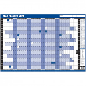 Year Wall Planner 2021
