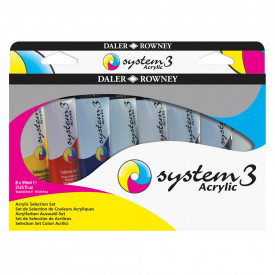 System 3 Acrylic Paint Tubes
