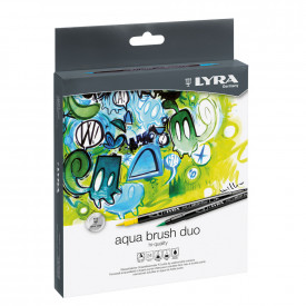 Lyra Artists Aquabrush Duo Pens