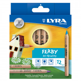 Lyra Ferby Nature Colouring Pencils