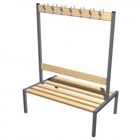 Cloakroom Double Sided Station