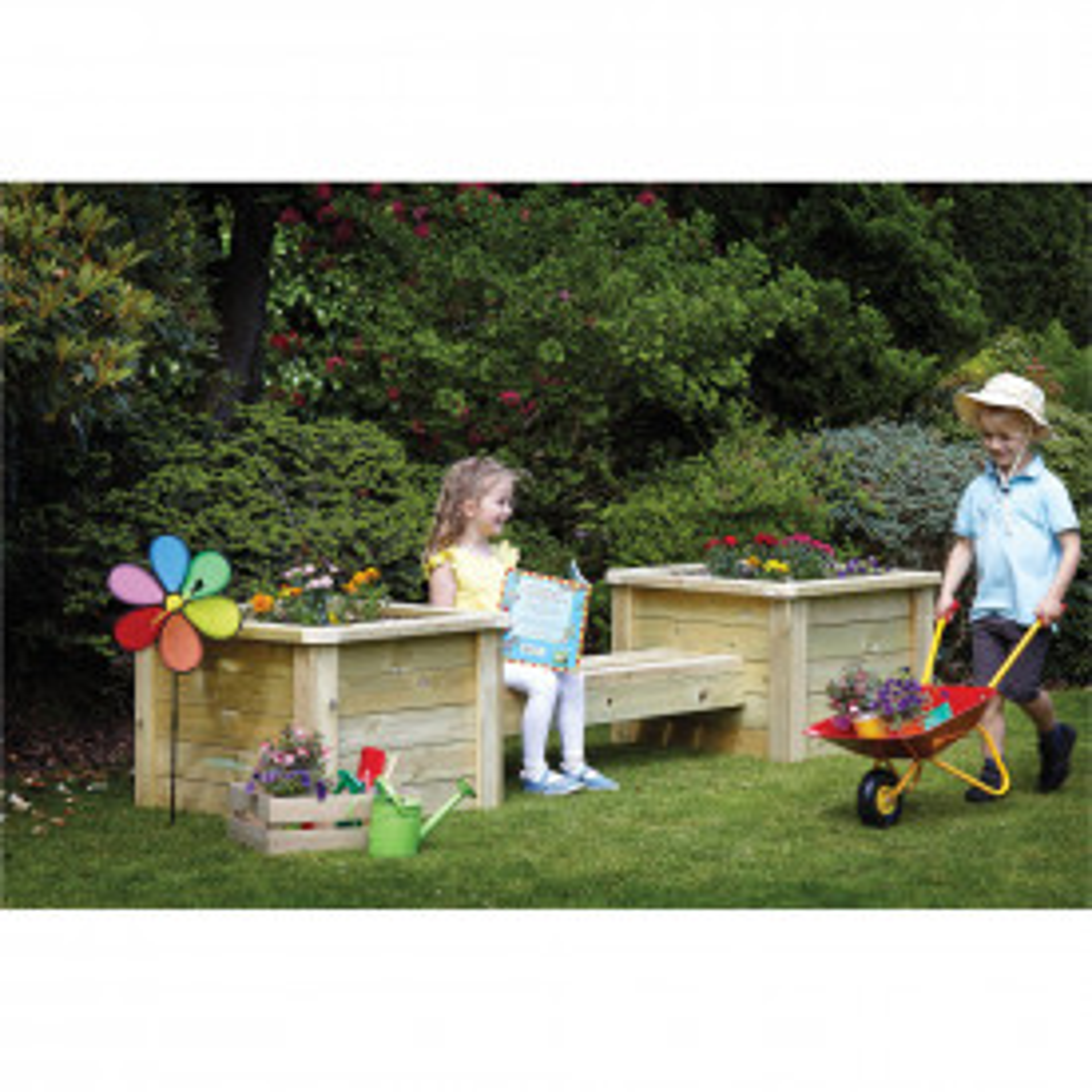 Planter & Bench Combo