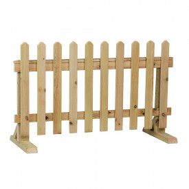 Movable Fence Panel Divider