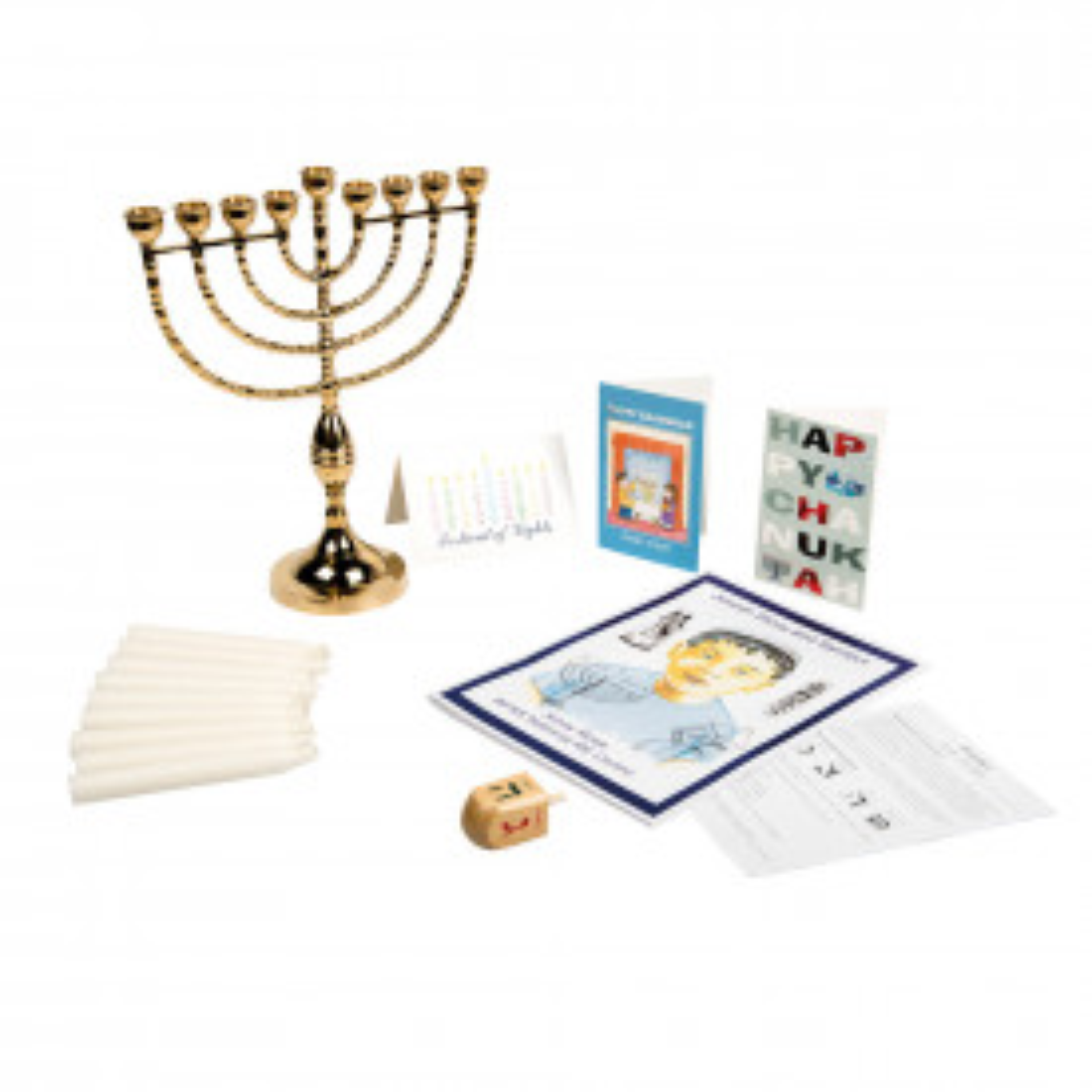Jewish Hanukkah Festival Artefacts