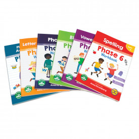 Letters and sounds workbooks