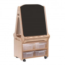 Double-sided 2 in 1 Easel and Stand