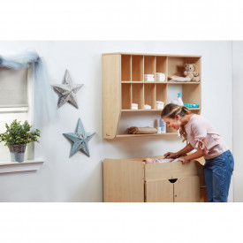 BIG DEAL Stepped Baby Changing Unit and Wall Unit