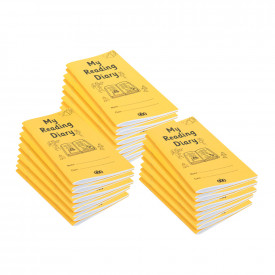 A5 Reading Diary (36 pages) 30pk