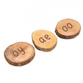 Outdoor Wooden 44 Sounds Pieces