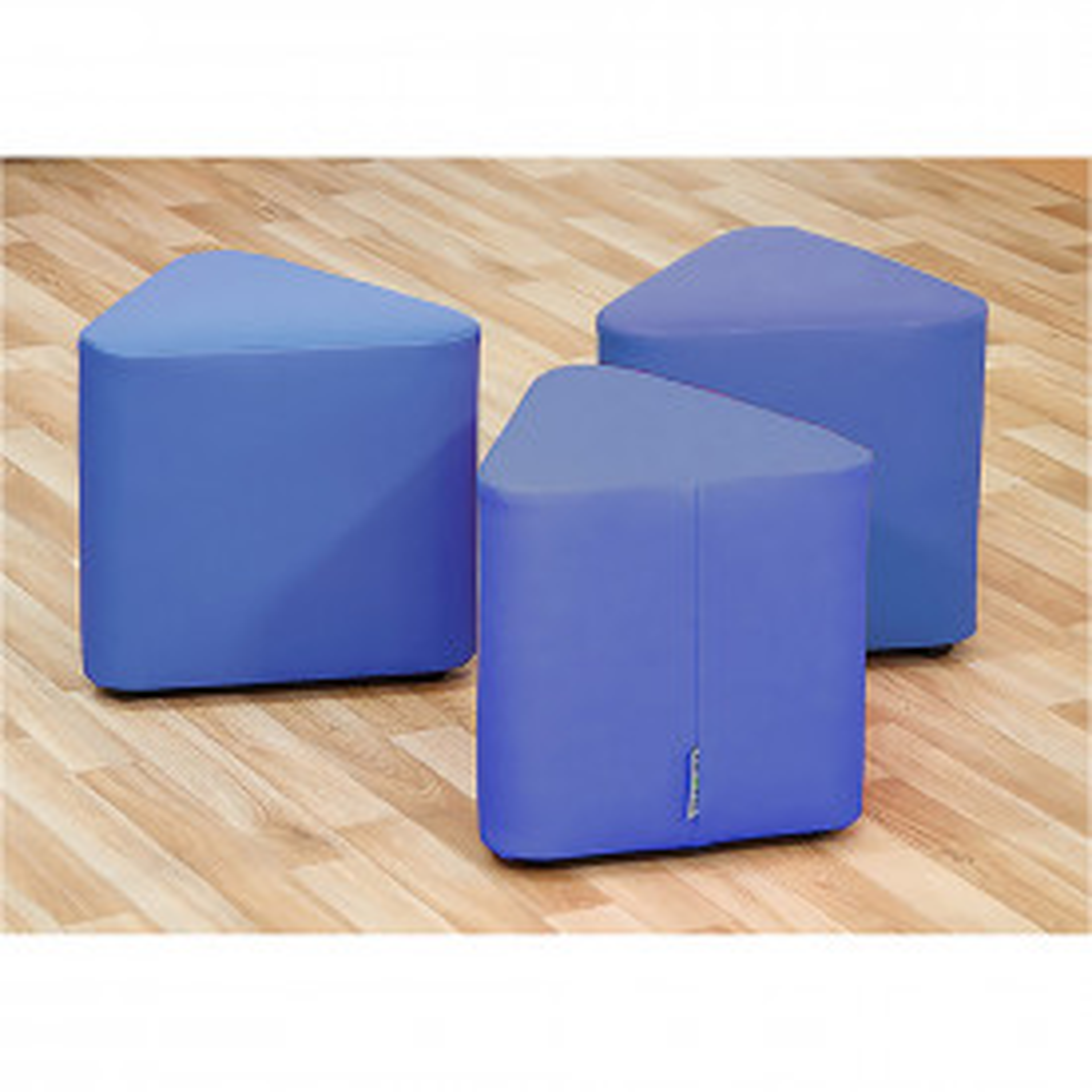 Set of 3 Mini Wedge Foam Seats