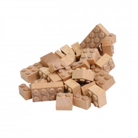 Eco Wooden Construction Bricks