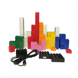 Junior Light Up Construction Bricks