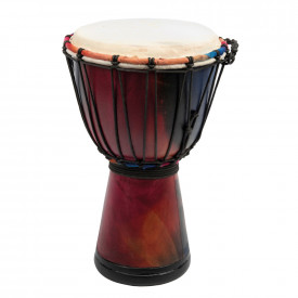 Rainbow Djembe Drum