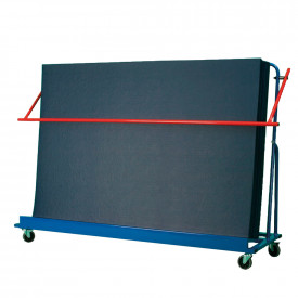 Inclined Gym Mat Trolley