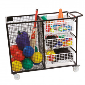 PE Multi Resource Storage Trolley