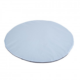 Geo Wipe Clean Antimicrobial Circular Play Mat