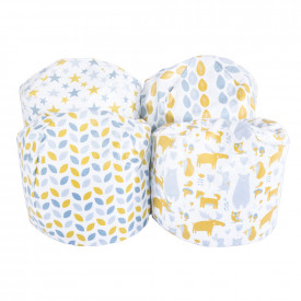 Geo Wipe Clean Small Beanbags