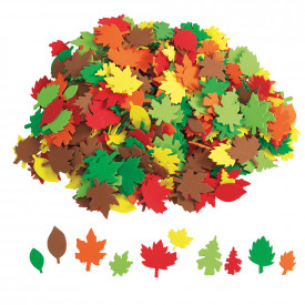 Autumn Leaves Foam Shapes Pack
