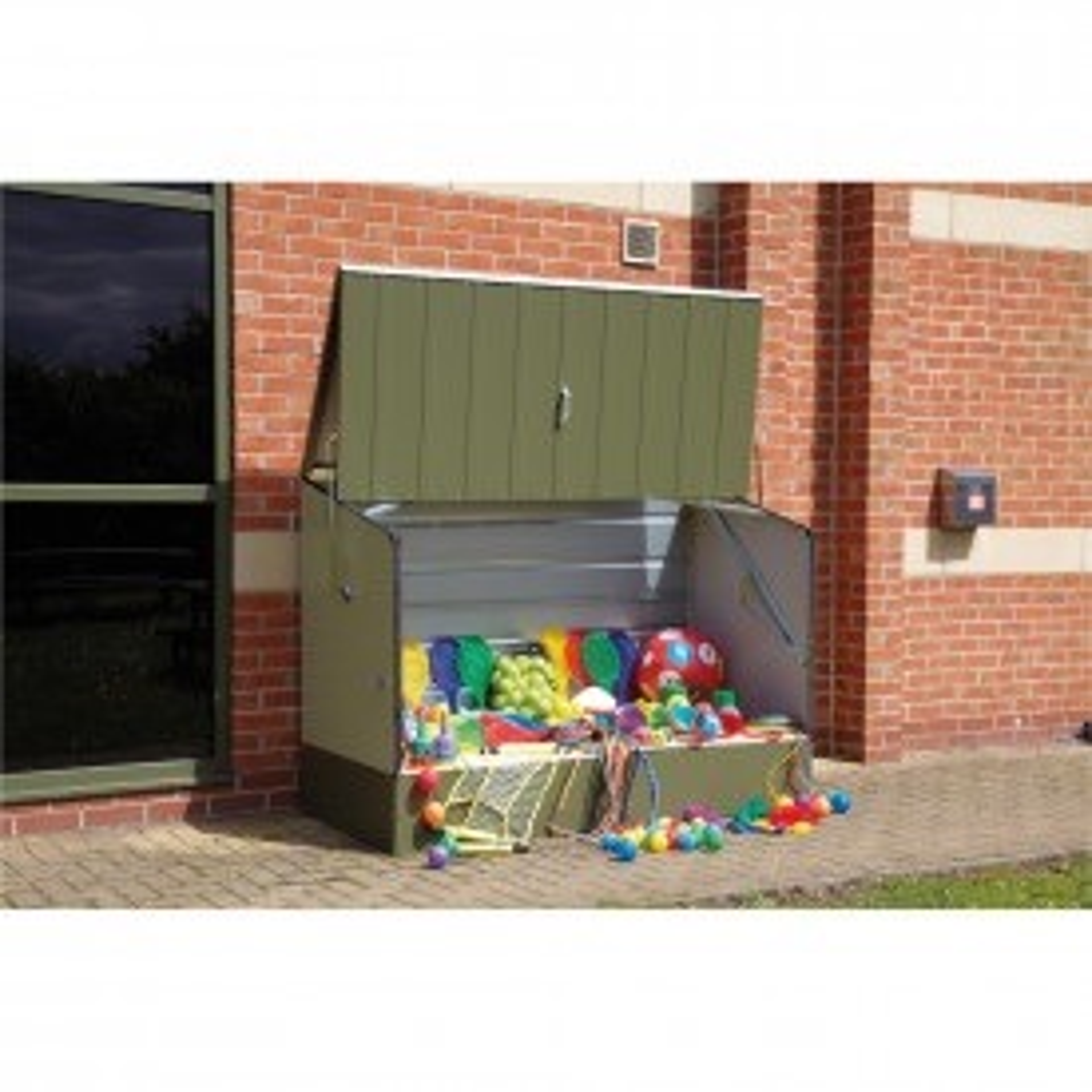 Outdoor Metal Storage Unit