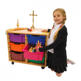 Religious Artefacts Storage Trolley