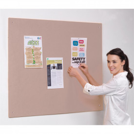 FlameShield Accents Unframed Noticeboard