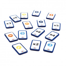 Blue-Bot® TacTile Reader Tiles Extension Pack
