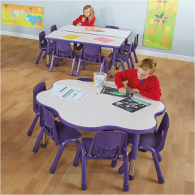 Valencia Classroom Furniture Set - Purple