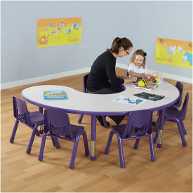 Valencia Group Table Purple