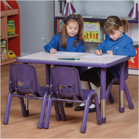 Valencia Rectangular 4 Seater Table Blue
