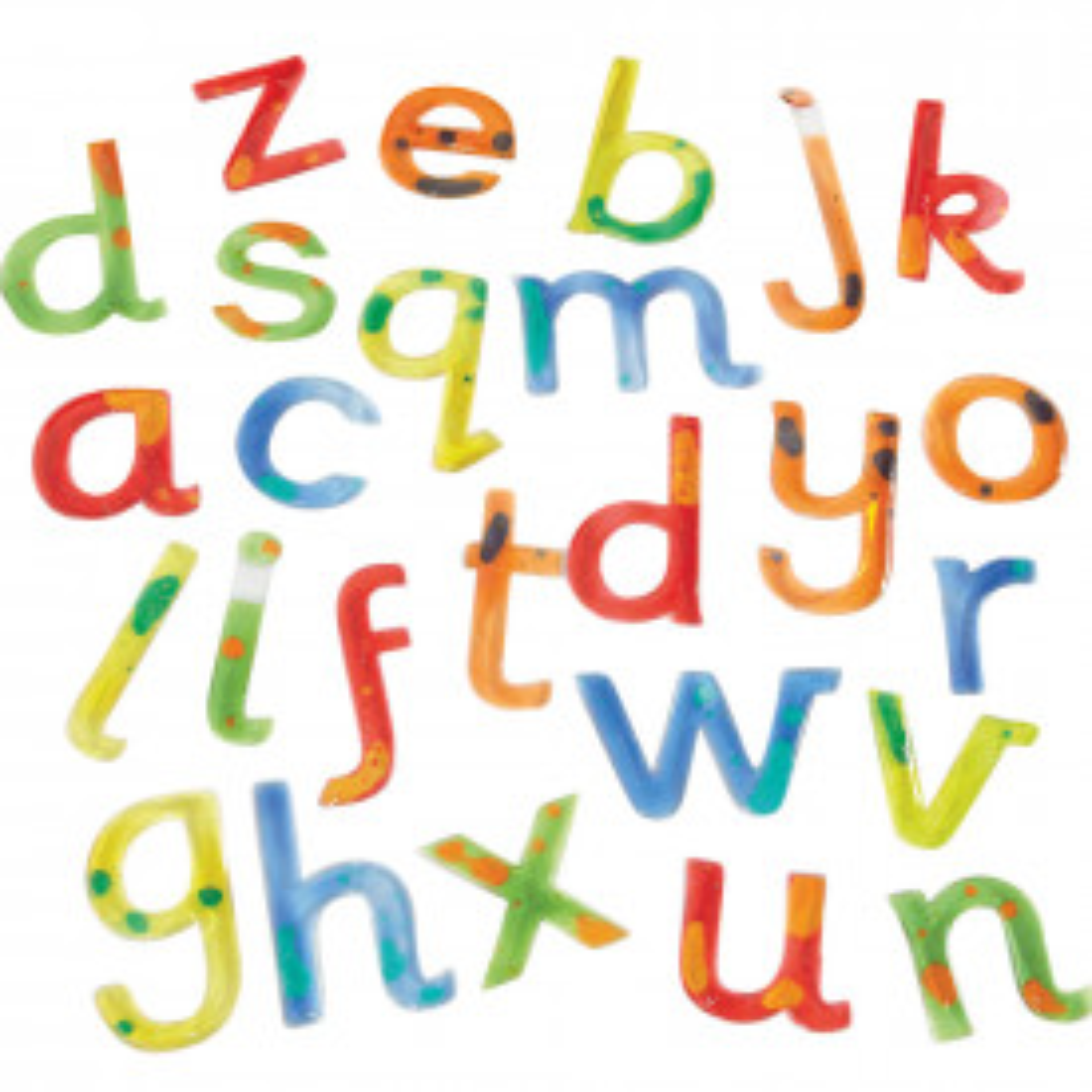 Squidgy Sparkle Letters