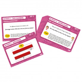 Bar Model Laminated Activity Cards