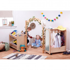 BIG DEAL Mini Toddler Dressing Up Zone