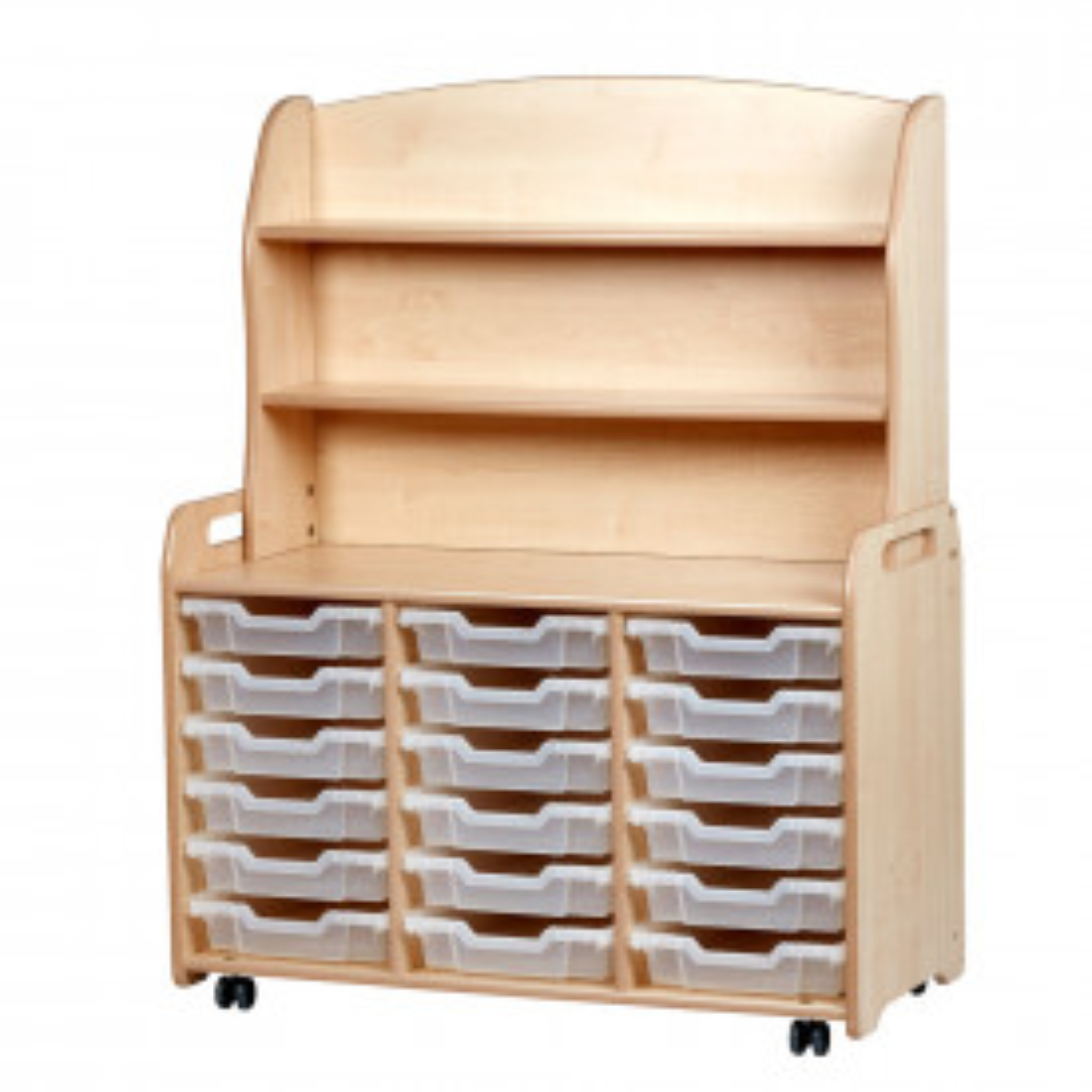 Triple Column Welsh Dresser shallow tray