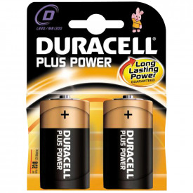 Duracell Plus - D Cell
