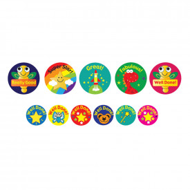Animals, Stars and Gadgets Stickers