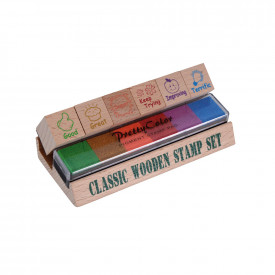 Motivational Wooden Stamp Set