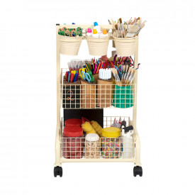 Mini Metal Craft Trolley