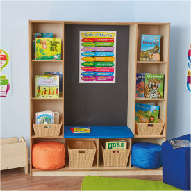 Bookcase with Seating
