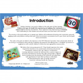 Outdoor Maths Problem Solving Cards