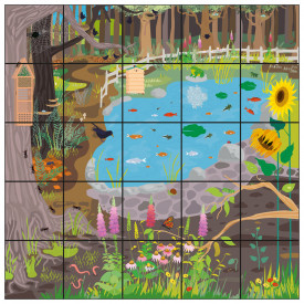 Bee-Bot® Wildlife Garden Mat