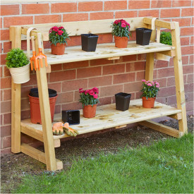 Tiered Shelving Units
