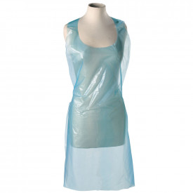 Budget Essentials Polythene Aprons In A Flat Pack