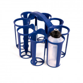 Plastic Water Bottles and Carrier