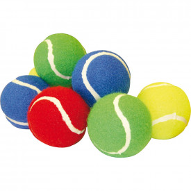 Coloured Tennis Balls