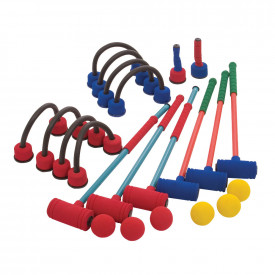 Superfoam Croquet Set